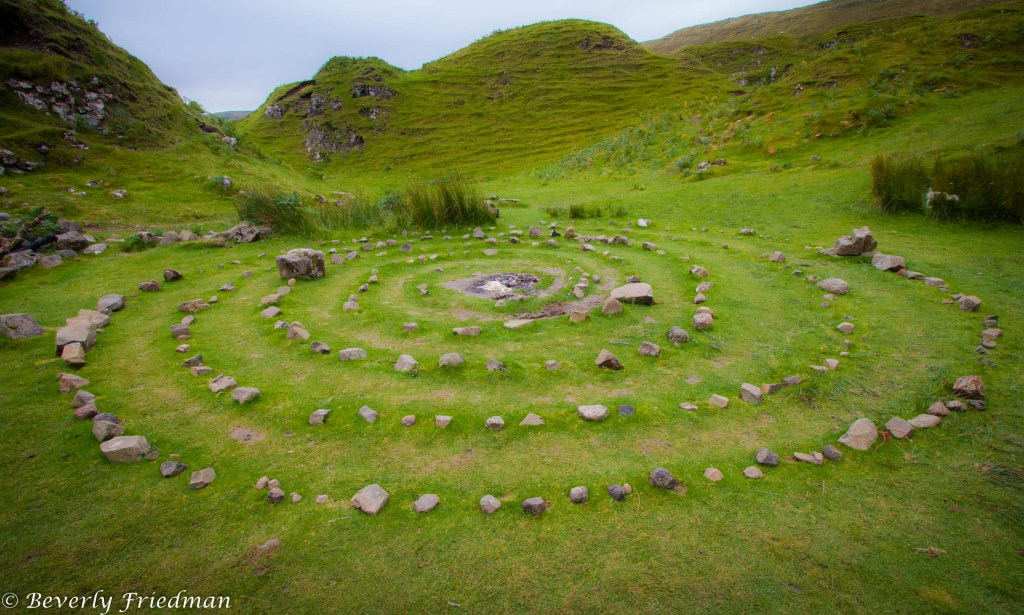 Fairy Glen Isle of Sky Scotland United Kingdom