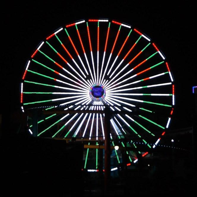 Santa Monica Pier Santa Monica California #santamonicachristmas #pacificpark
