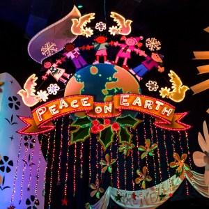Christmas Disneyland California #smallworldholiday