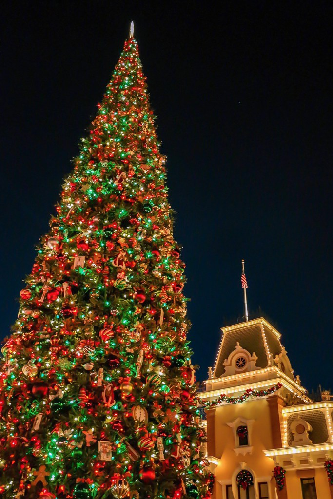 Christmas Disneyland California #mainstreetusaholiday