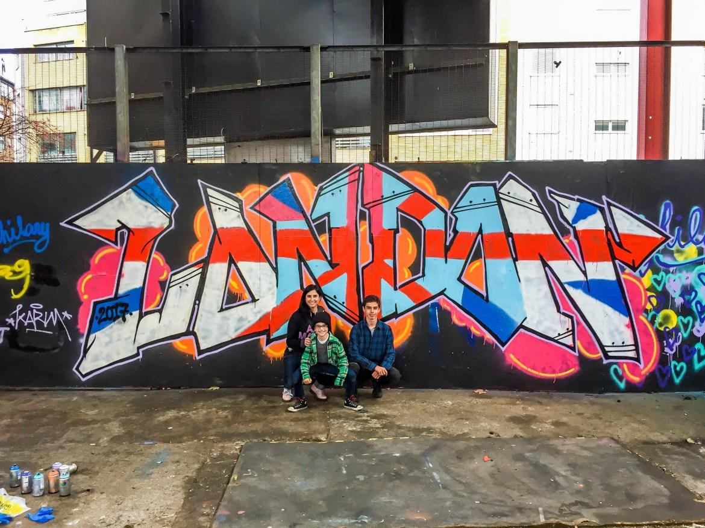 Street art master class Shoreditch