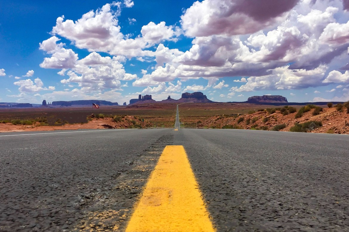 Mexican Hat HWY 163 Monument Valley Arizona