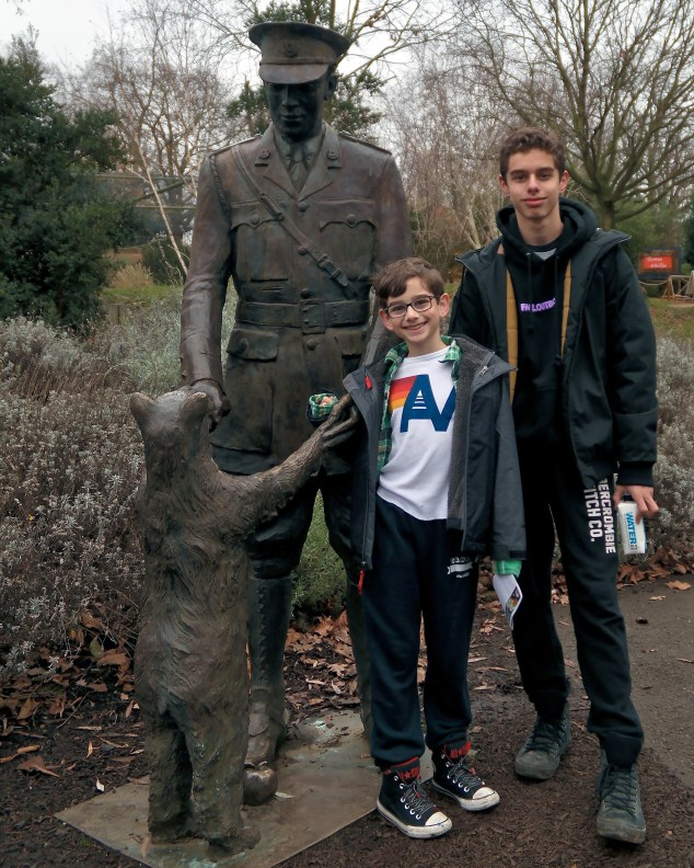 London Zoo #familytravel #winniethepooh