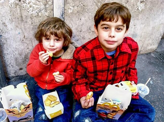 McDonalds Rome Italy #familytravel #travelwithkids