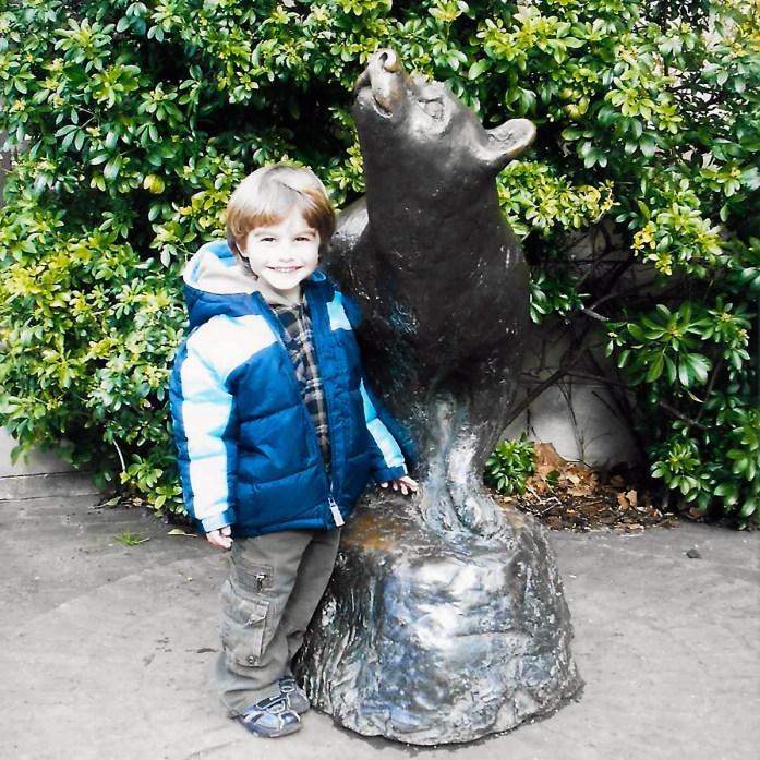 The London Zoo #winniethepooh #londonZoo #familytravel