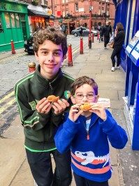 #taiyaki #londonchinatown London with kids