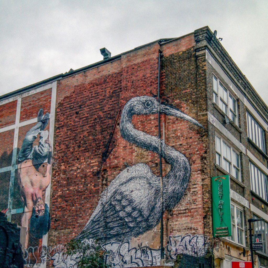 Brick Lane London England United Kingdom #bricklane #roa
