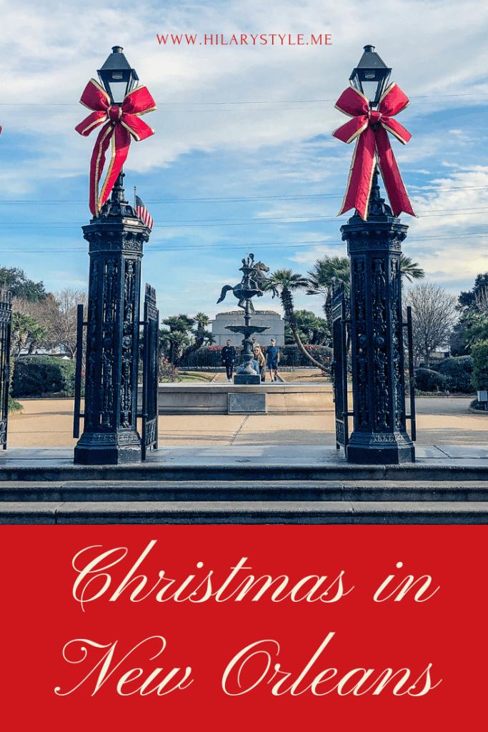 Christmas In New Orleans Louisiana #familytravel #neworleanswithkids #christmasinnola #nola