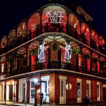 Festive House Roya Street New Orleans Louisiana