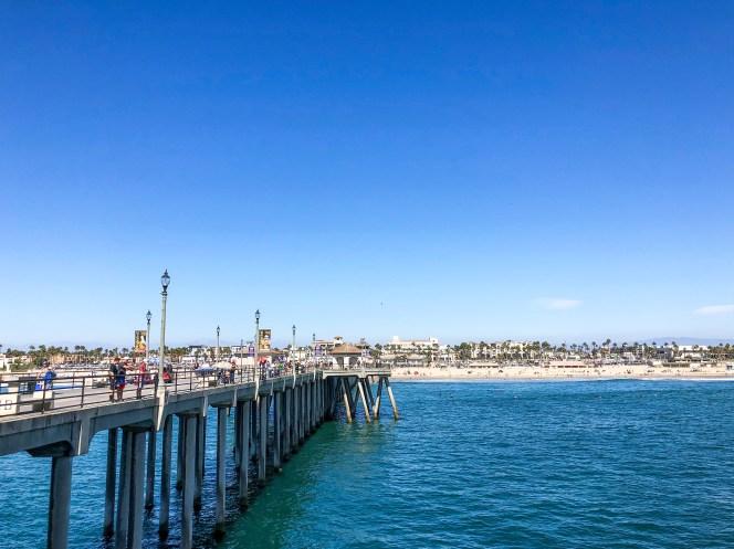 Huntington Beach Pier Huntington Beach California #daytripfromla #surfcity