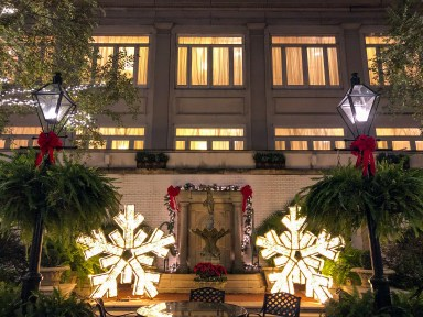 Ritz Carlton Holiday New Orleans Louisiana
