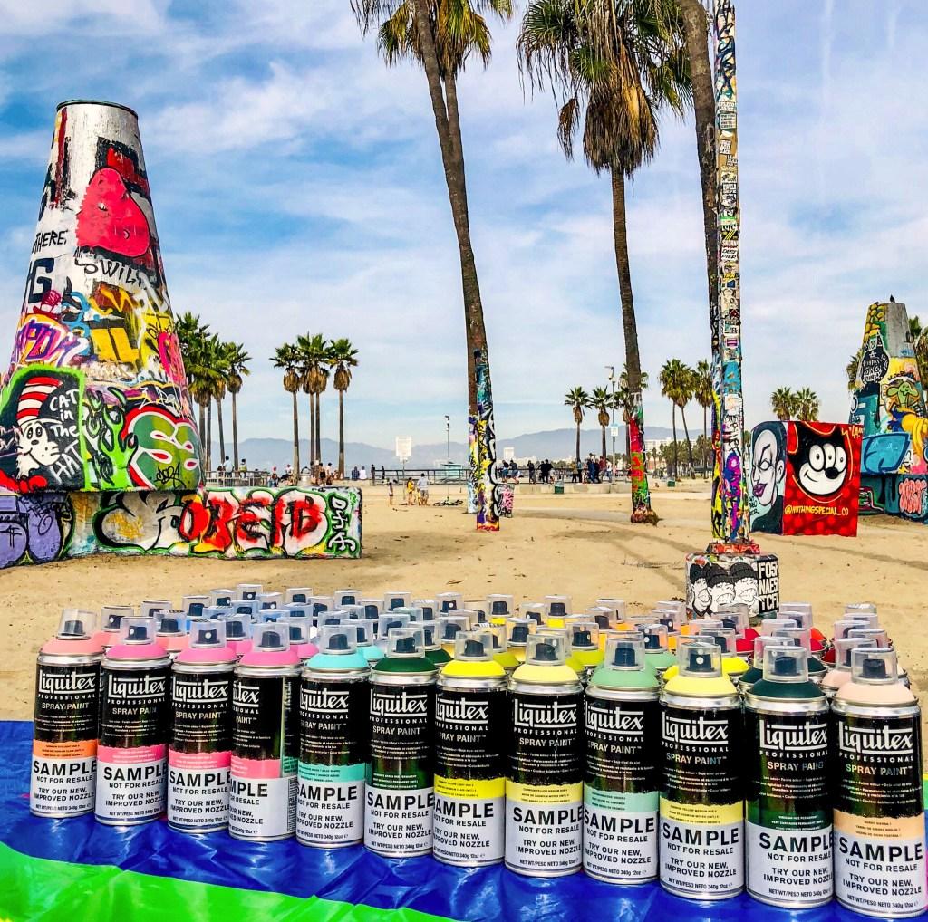 Venice Art Walls Graffiti Party Los Angeles California