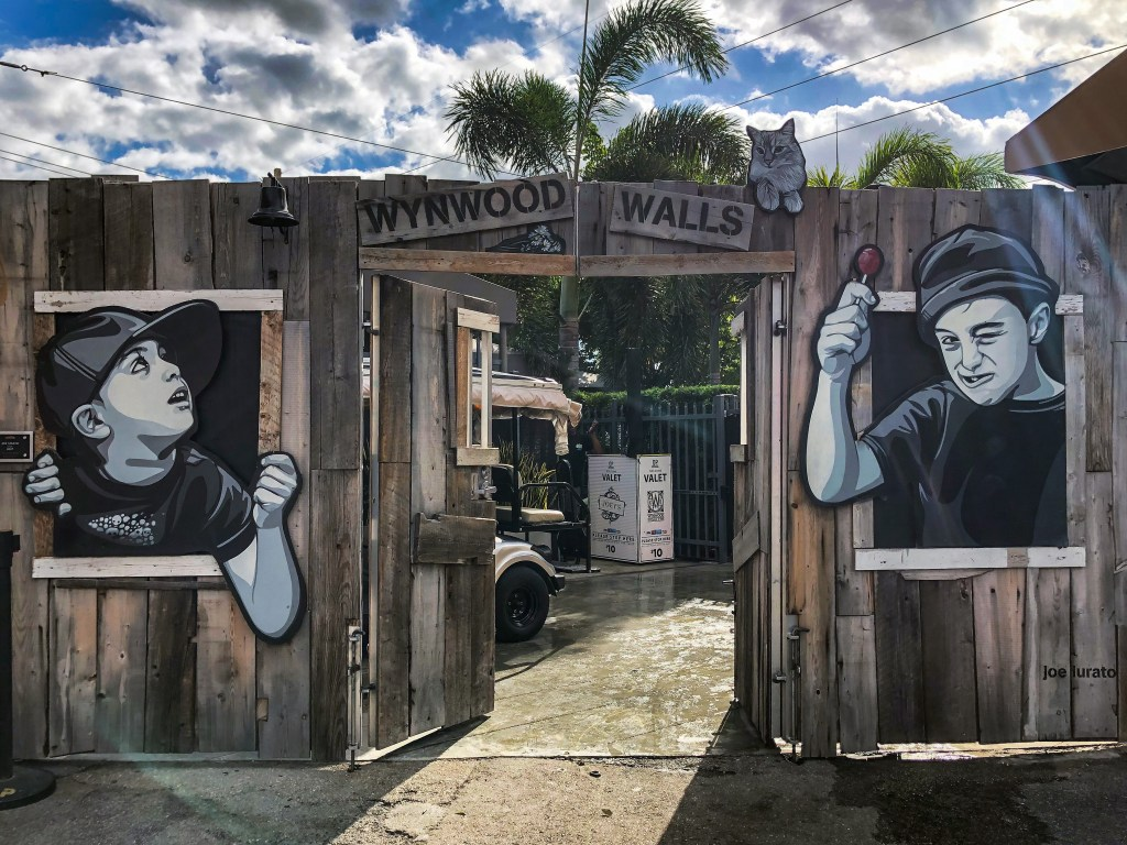 Front Gate Wynwood Walls Wynwood Miami Florida #wynwoodwalls