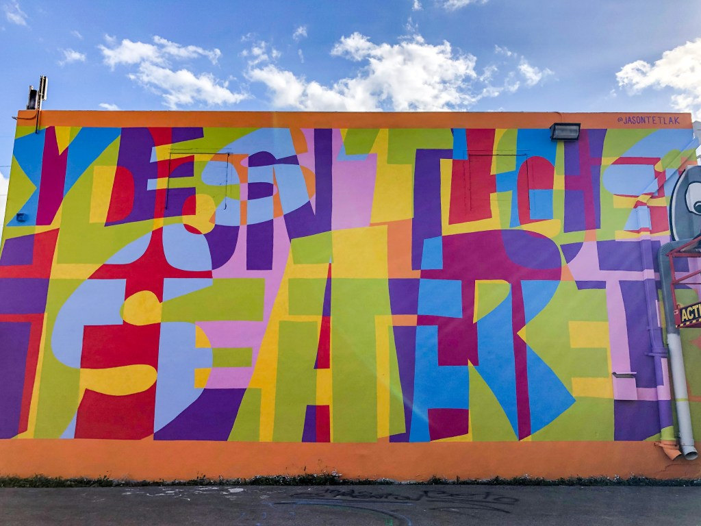 Yes this is Art Wynwood Miami Florida #jasontetlak
