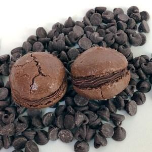 Chocolate Ganache French Macaron