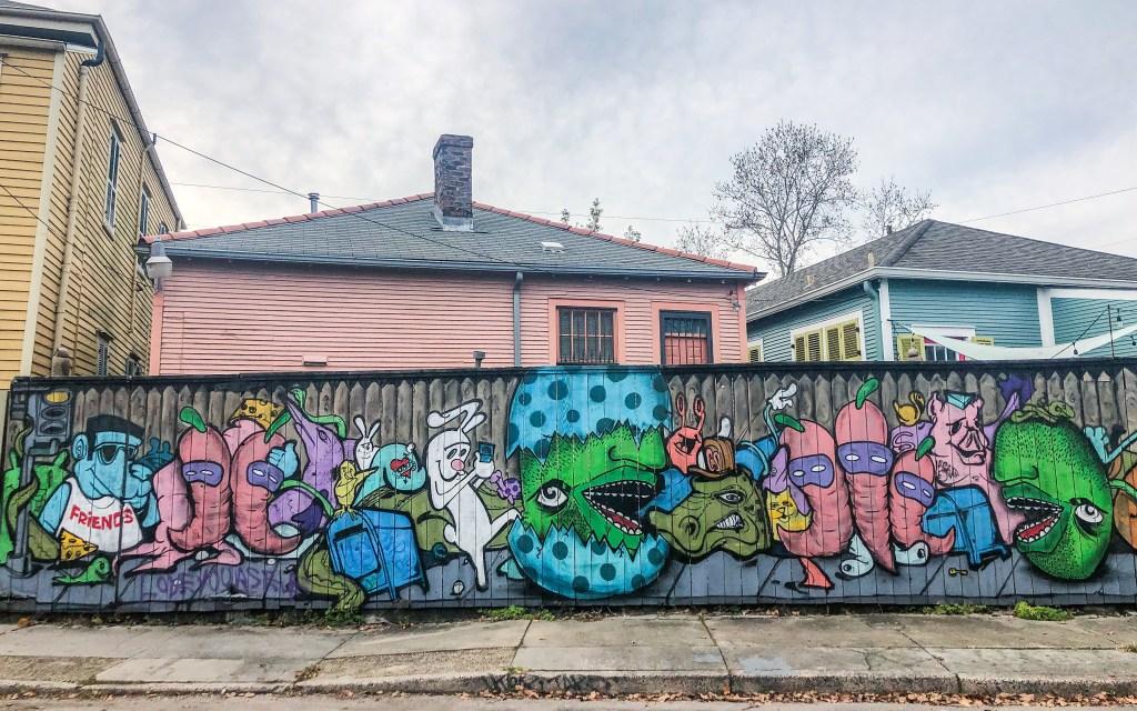 #graffiti #bywater #nola