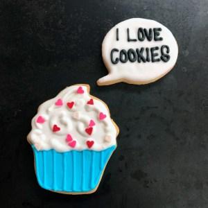 #ilovecookies #cupcakecooke