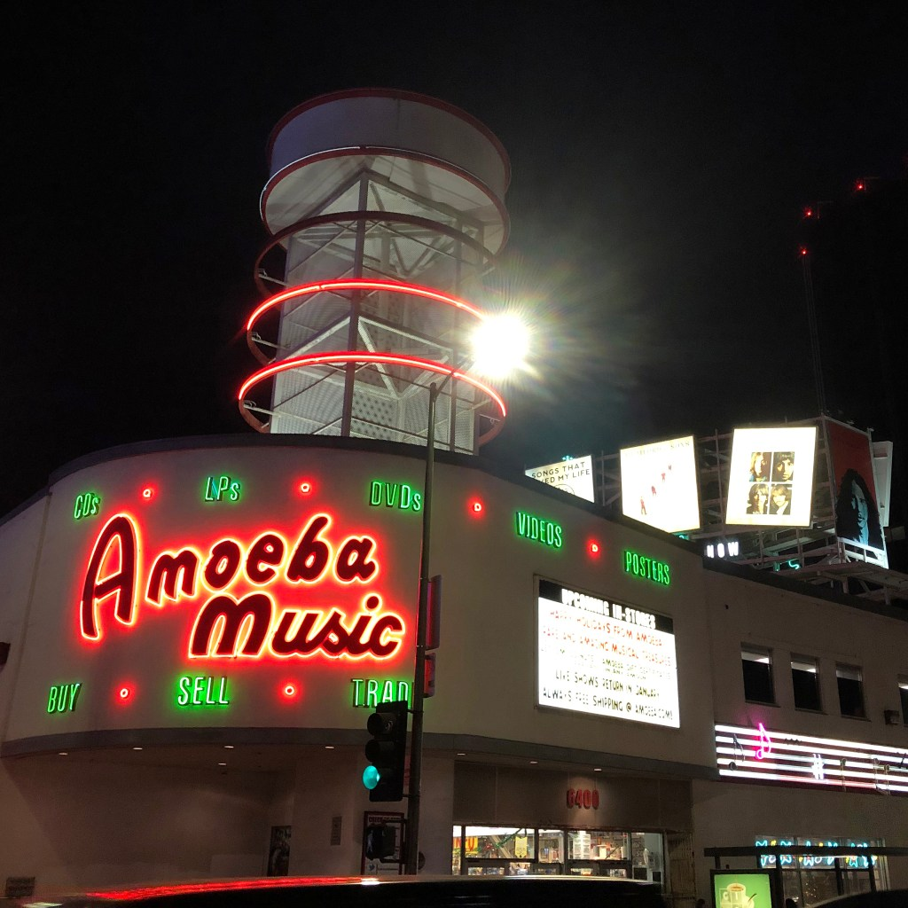 Amoeba Music Sunset Blvd Los Angeles California