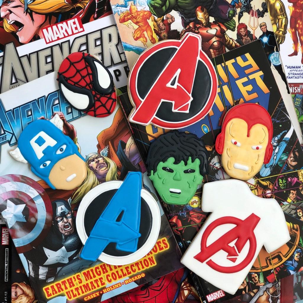 #avengerscookies #marvelcookies #superherocookies #cookieshilarystyle