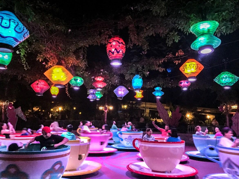 #teacups #disneyland #fantasyland