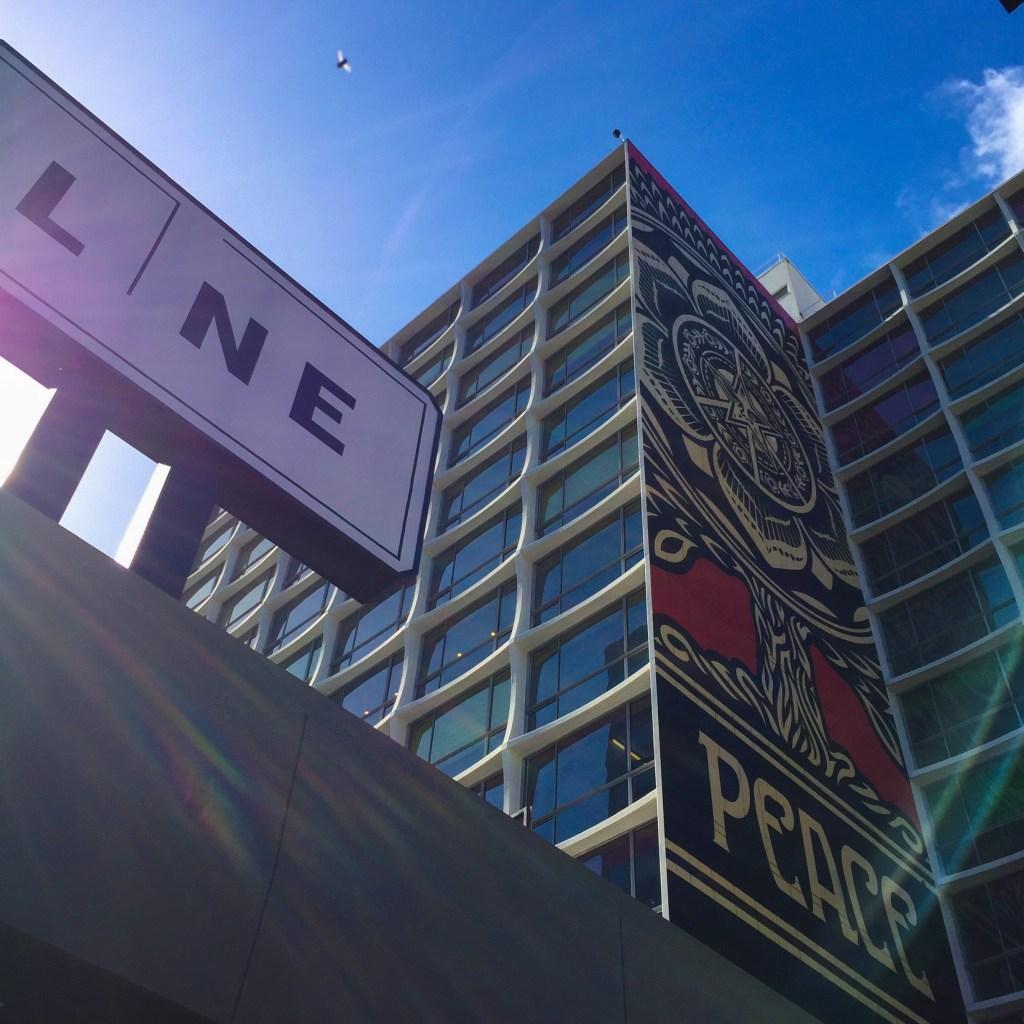 Koreatown Line Hotel Shepard Fairey Los Angeles California