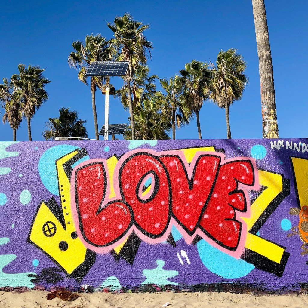 #venicebeach Art Walls Venice Beach California #lagraffiti