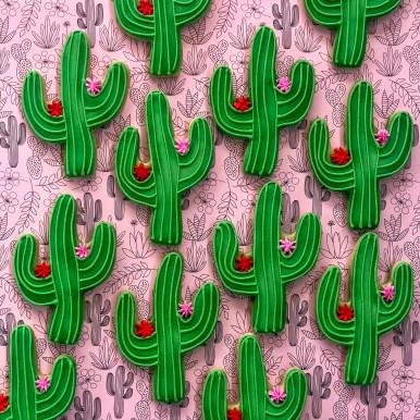 #fiestacookies #fiesta #celebrationcookies #cookieshilarystyle #cookiesareeverything #cactuscookies