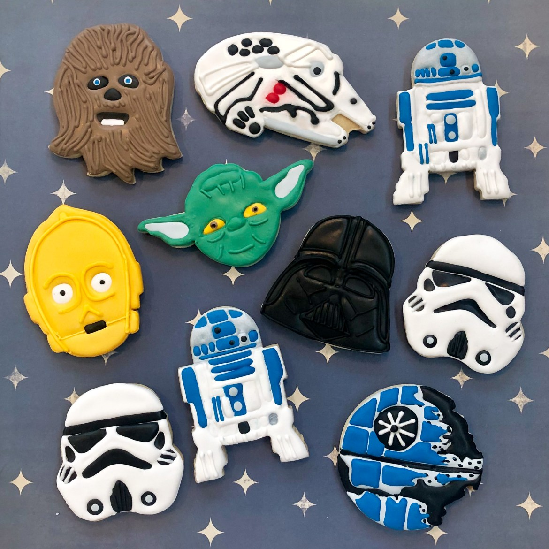 #starwarscookies #cookieshilarystyle #cookiesareeverything