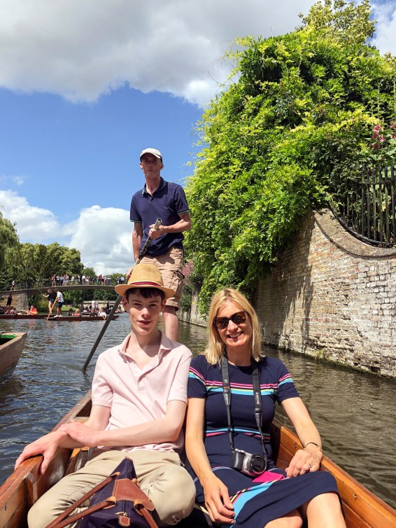 Clare and Family Cambridge England 2019-