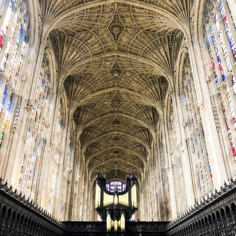 Kings Chapel Ceiling Cambridge England 2019-