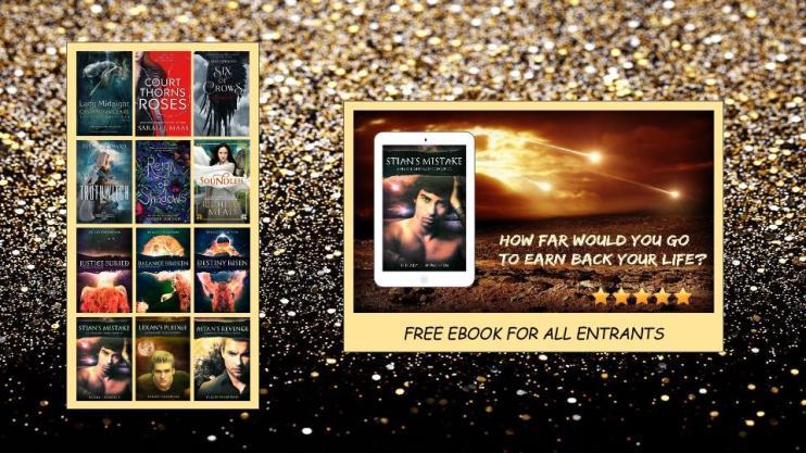 YA Fantasy 6 Book Giveaway