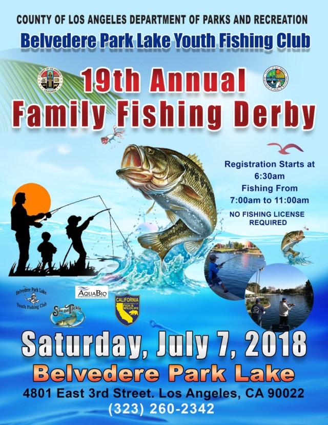 19th Annual Family Fishing Derby – Supervisor Hilda L Solis