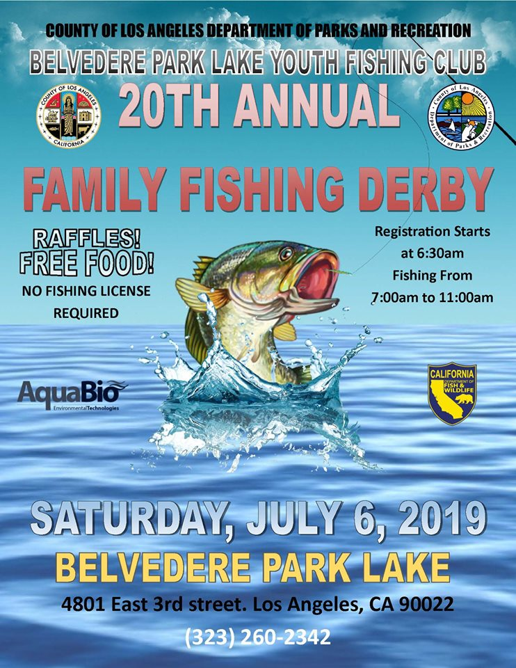 20th Annual Family Fishing Derby – Supervisor Hilda L Solis