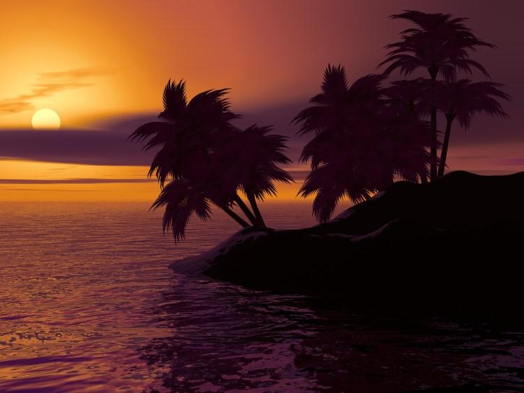 øde øy