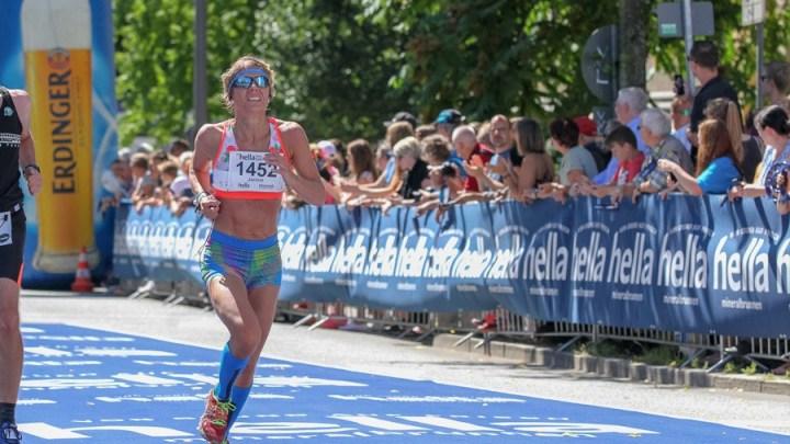 Janine Thürnau hat beim Hamburg-Halbmarathon nur knapp den Vereinsrekord verpasst