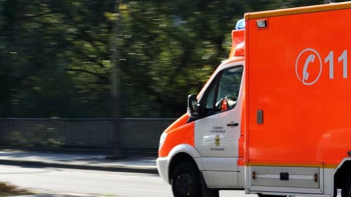 Motorradfahrer bei Unfall leicht verletzt