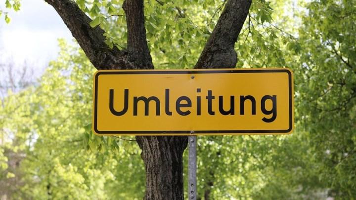 Fahrbahn-Vollsperrung am Lerchenkamp