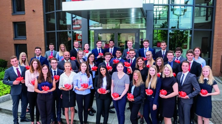 Spannend ab dem ersten Tag: Ausbildungsbeginn bei der Sparkasse Hildesheim Goslar Peine