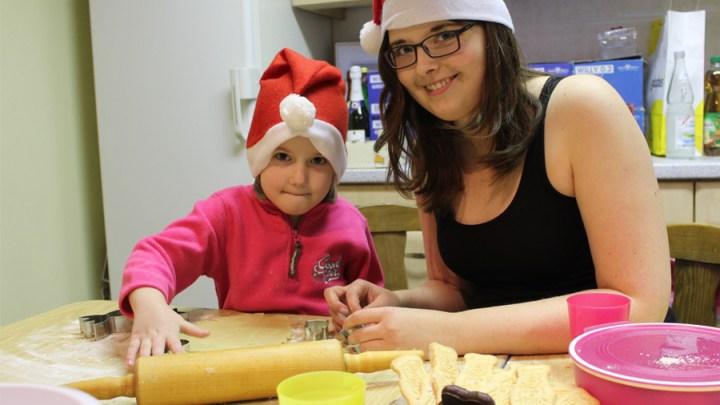 Weihnachtsbäckerei in der Friedenskirche