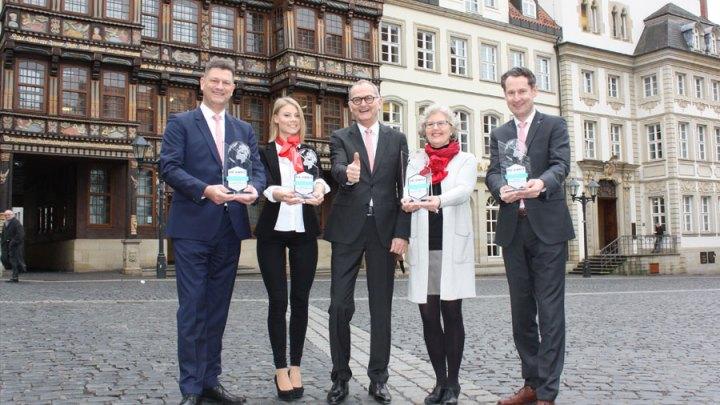 Beste Bankberatung: Sparkasse Hildesheim Goslar Peine vierfach als Sieger ausgezeichnet
