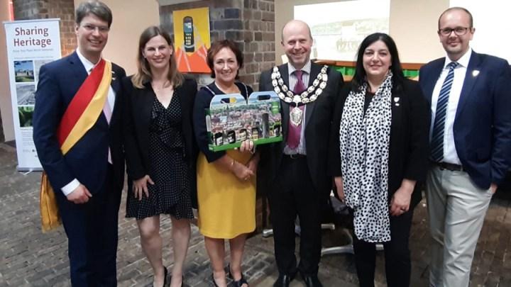 Hildesheimer Delegation in Weston-super-Mare