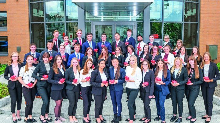 38 Berufsstarter bei der Sparkasse Hildesheim Goslar Peine