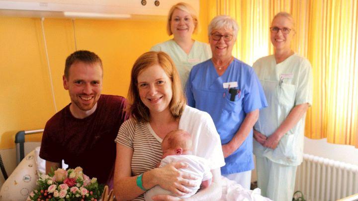 1.739 Babys – Erneuter Geburtenrekord am Helios Klinikum Hildesheim
