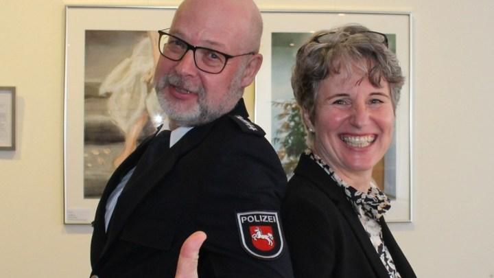 Amtseinführung von Polizeihauptkommissar Lutz Ike als Leiter des Polizeikommissariats Elze