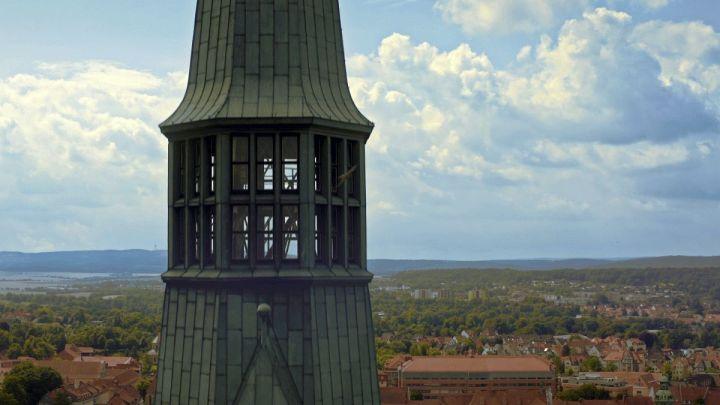 Saisonauftakt im St.-Andreas-Kirchturm