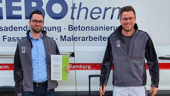 Sto-Stiftung fördert Deutschlands einhundert beste Maler- und Lackiererauszubildende