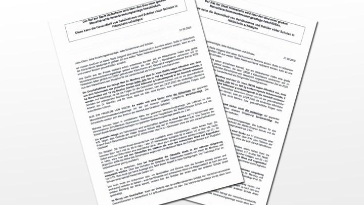 Stellungnahme der Grünen und SPD zum an der RBG verteilten Flugblatt