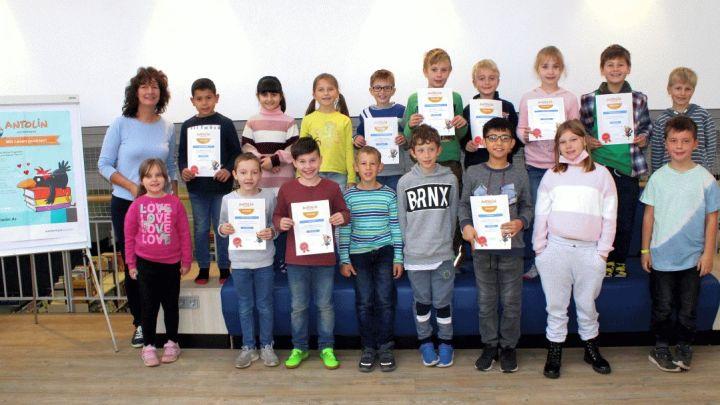 271 Kinder beim 7. Antolin-Sommerleseclub