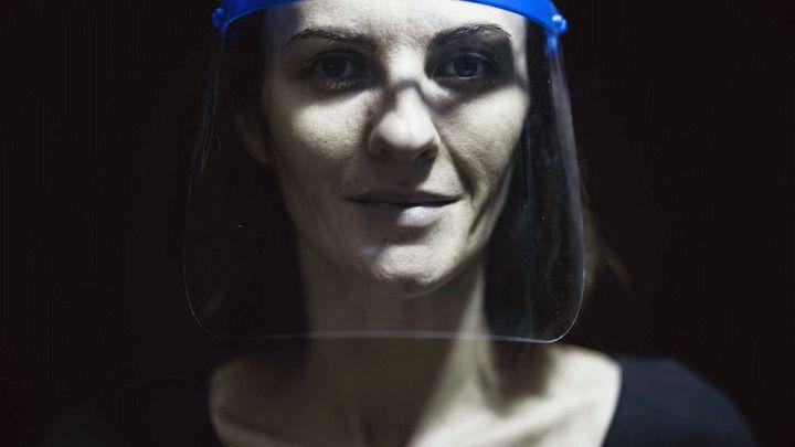 Corona: Gesichtsvisiere sind als Mund-Nasen-Bedeckung nicht zulässig