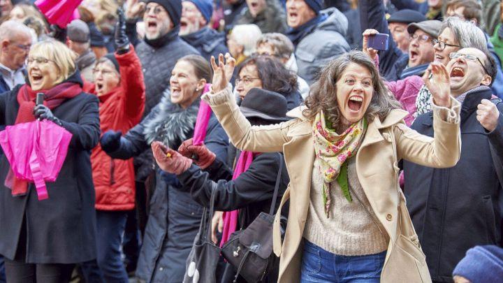"Entscheidung zur ""Kulturhauptstadt Europas"": Mitfiebern im Public Viewing"